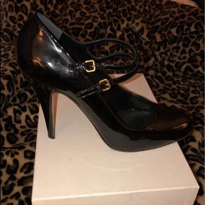 Shoes - Miu Miu Patent Leather Mary Jane Pumps